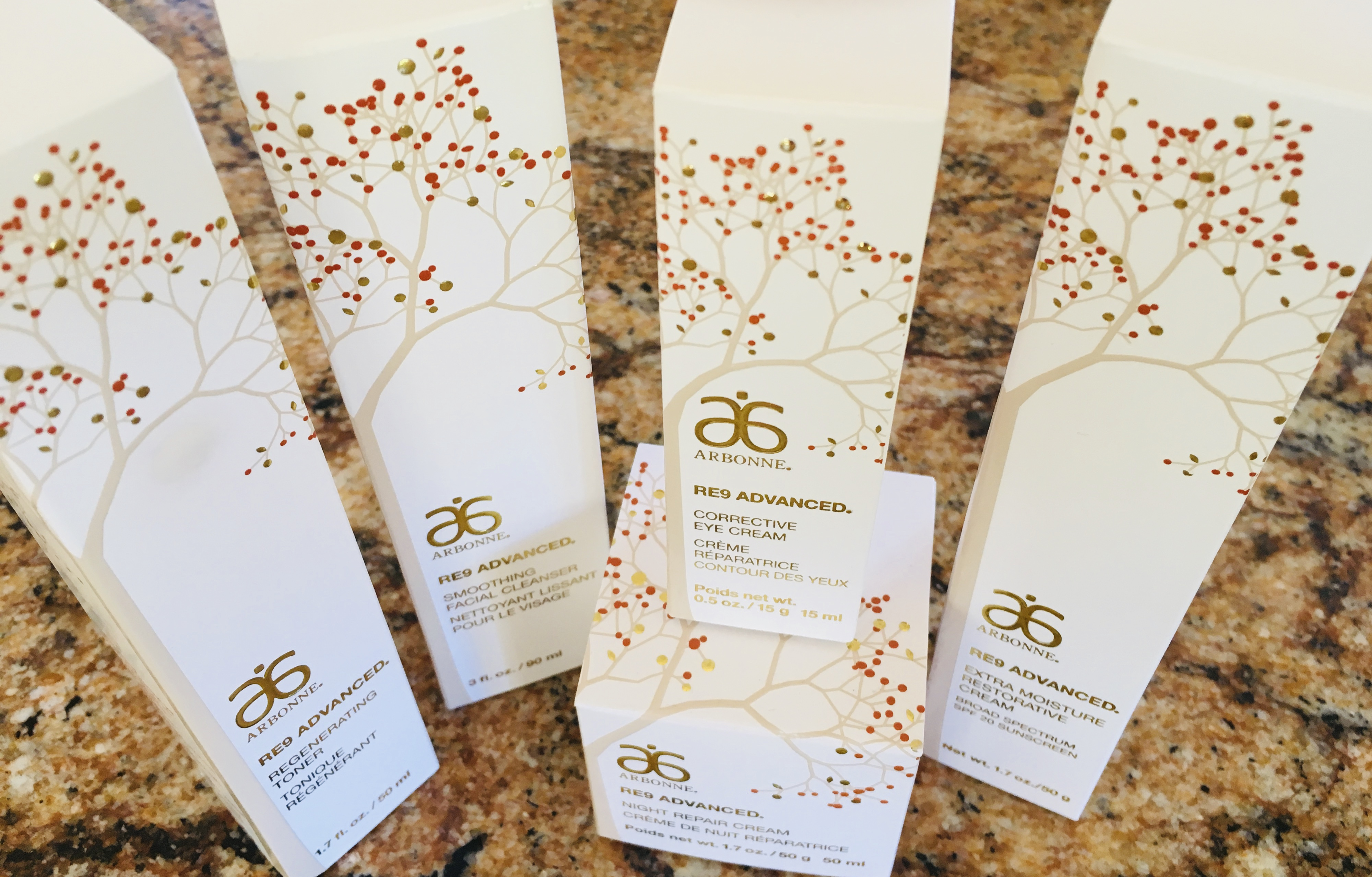 Arbonne for skincare